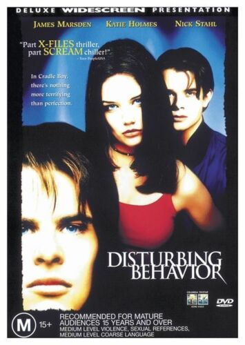 1 of 1 - Disturbing Behaviour - James Marsden Katie Holmes GENUINE R4 DVD NEW/SEALED RARE