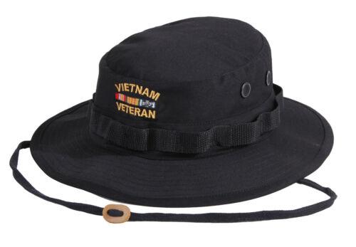 Jungla Estilo Negro Deluxe Vietnam Bordado Militar Personalizado Veteran's BqT5I4wxA