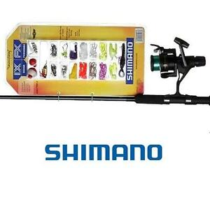 ENSEMBLE-SPINNING-PECHE-AU-LANCER-CANNE-A-PECHE-SHIMANO-FX-1-70-m