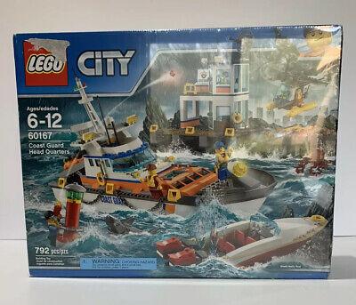 60167 COAST GUARD HEAD QUARTERS HQ lego NEW city town SEALED legos set BOAT ship
