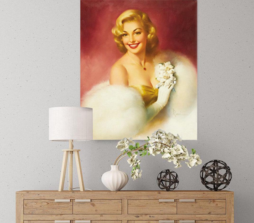 3D Weiße Kleid Marilyn Monroe 7 Fototapeten Wandbild BildTapete AJSTORE DE Lemon