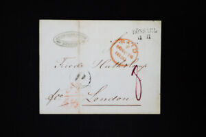 Prussia-1850-Stampless-Cover-to-London