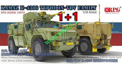 RPG Model 35019 1//35 scale KAMAZ K-4386 TYPHOON-VDV FAMILY 2020 NEW