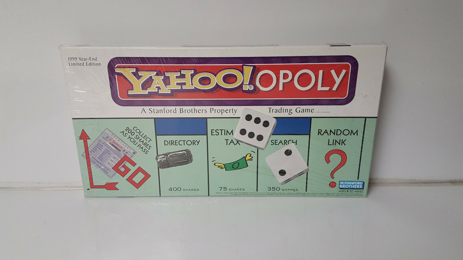 Monopol - yahoo yahooopoly c1999