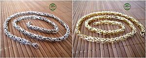 Collana-Uomo-Snake-in-Acciaio-Inox-Classica-Old-Style-color-Argento-Oro-Glamour