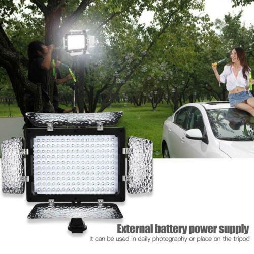 W160 LED Luz de Video 6000K Regulable Relleno Panel de luz para DSLR vídeo de foto