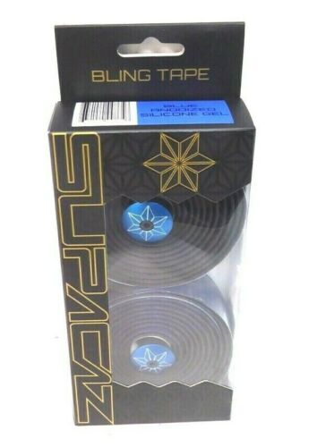 Supacaz Bling Bar Tape Anodized Blue