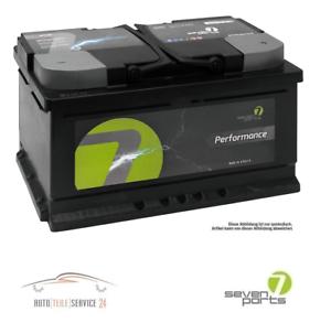 autobatterie seven parts starterbatterie akku 12v 45ah. Black Bedroom Furniture Sets. Home Design Ideas