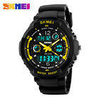 SKMEI Men Quartz Digital Watch Sports S-Shock LED Waterproof Wristwatches