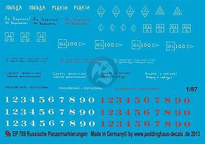 Peddinghaus Decals - Peddinghaus-Decals 1:35 2866 markings