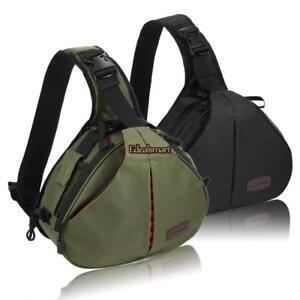 DSLR Camera Backpack Shoulder Bag Compact Photograph Waterproof Nikon Canon Sony