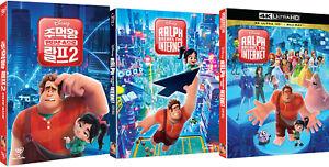 Ralph-Breaks-The-Internet-4K-Blu-ray-DVD-Slip-Case-Edition-2019-Pick-one