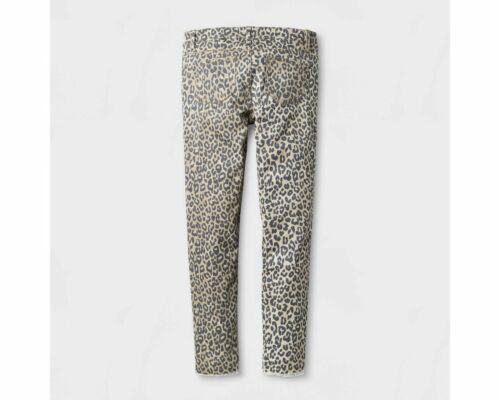 Girls/' Leopard//Cheetah Print Super Skinny Jeans Pants by Art Class Size 10