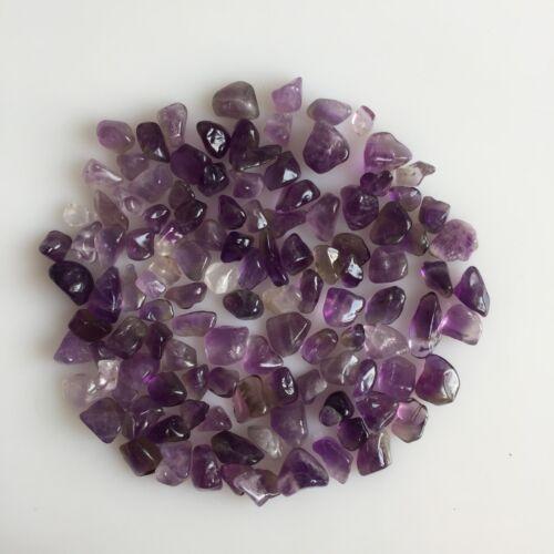 Cuarzo Amatista Natural Scoop Tumble púrpura piedras preciosas lote Pulido Mineral Suelto