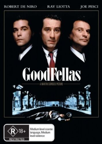 1 of 1 - GOODFELLAS. THRILLER. DVD. LIKE NEW. R4. FREE POST. ROBERT DE NIRO