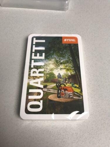 Stihl Chainsaw Company Quartet Card Game Art.-No 7013 100 0112