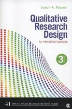 Applied Social Research Methods: Qualitative Research Design : An Interactive Approach 41 by Joseph A. Maxwell (2012, Paperback)