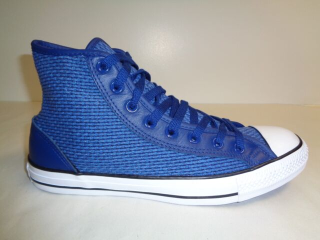ea019478f7b78f Converse Size 10 Mens 12 Womens CT OVERLAY HI Blue Sneakers New Unisex Shoes