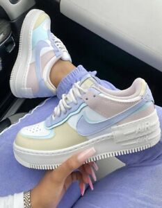 Air Force 1 Af1 Shadow Trainers Ghost Glacier Blue Fossil Rose Uk 8 5 Eu 43 Ebay Scegli la consegna gratis per riparmiare di più. ebay
