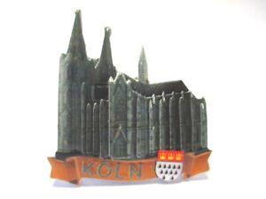 Cologne Cologne Dom 3d Poly Frigo Aimant Souvenir Germany (116):-afficher Le Titre D'origine Riche Et Magnifique