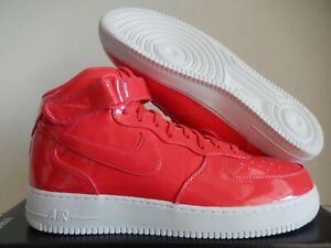 Details about NIKE AIR FORCE 1 MID 07 LV8 UV SIREN RED SIREN RED WHITE SZ 14 [AO0702 600]