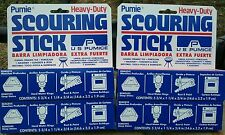 4 PUMIE PUMICE SCOURING STONE/BLOCK BBQ Grill Toilet, Bathroom Kitchen Cleaner