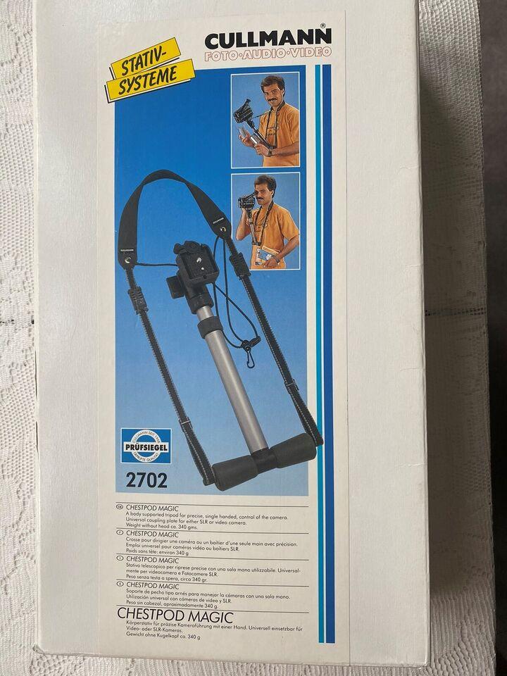 Video/kamera stativ , Cullmann, Chestpod Magic 2702