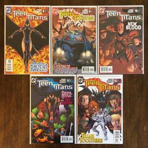 Teen Titans 8 9 10 11 12 Nm Set 1st Full Appearance Rose Wilson