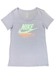 Nike-Womens-Sunset-Swoosh-Scoop-Neck-Graphic-Shirt-Purple-911434-534-New