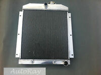 Brand Aluminum Radiator For Chevy Pickup Truck Includes Tranny Cooler 47-54
