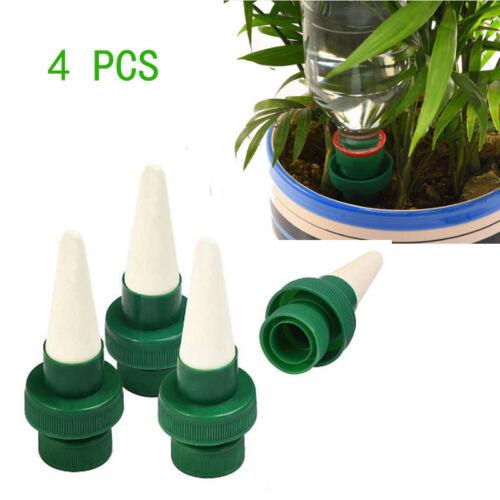 4X Kunststoff Automatische Sprinkler für Pflanzen Garten Bewässerungssystem 10cm