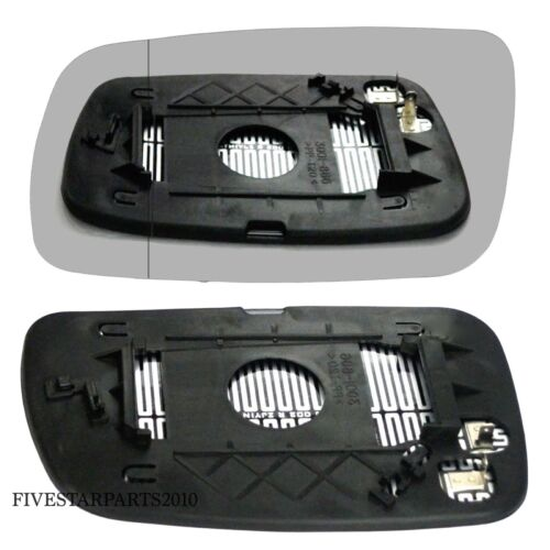 Izquierdo Derecho Lateral Espejo Gran Angular para Toyota Avensis 03-06 Térmico