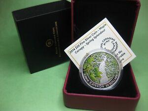 2014-20-Fine-Silver-coin-Maple-Canopy-Spring-Splendour