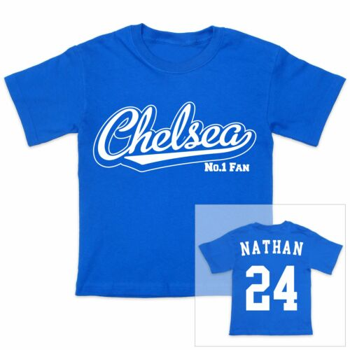 CHELSEA Football Personalised Baby//Child T-Shirt