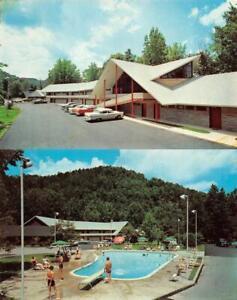 Twin Islands Motel Gatlinburg, TN Postcard