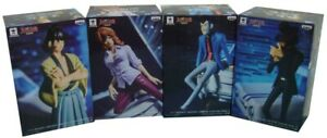 Diorama Automobile Complete Set 4 Figure Lupin Creator X Part 5 Banpresto Japan