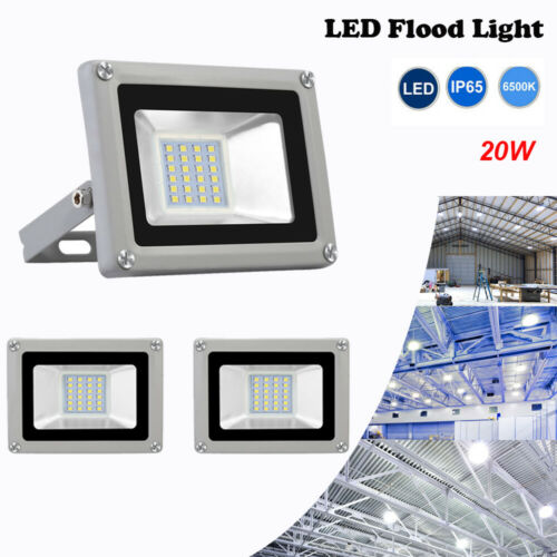 20W LED Flood Light Outdoor Security Flood Spot Light Garden Yard Lamp US