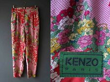 80s Kenzo Floral Harem Pants Small 42 Buy 3+ items for FREE Postage