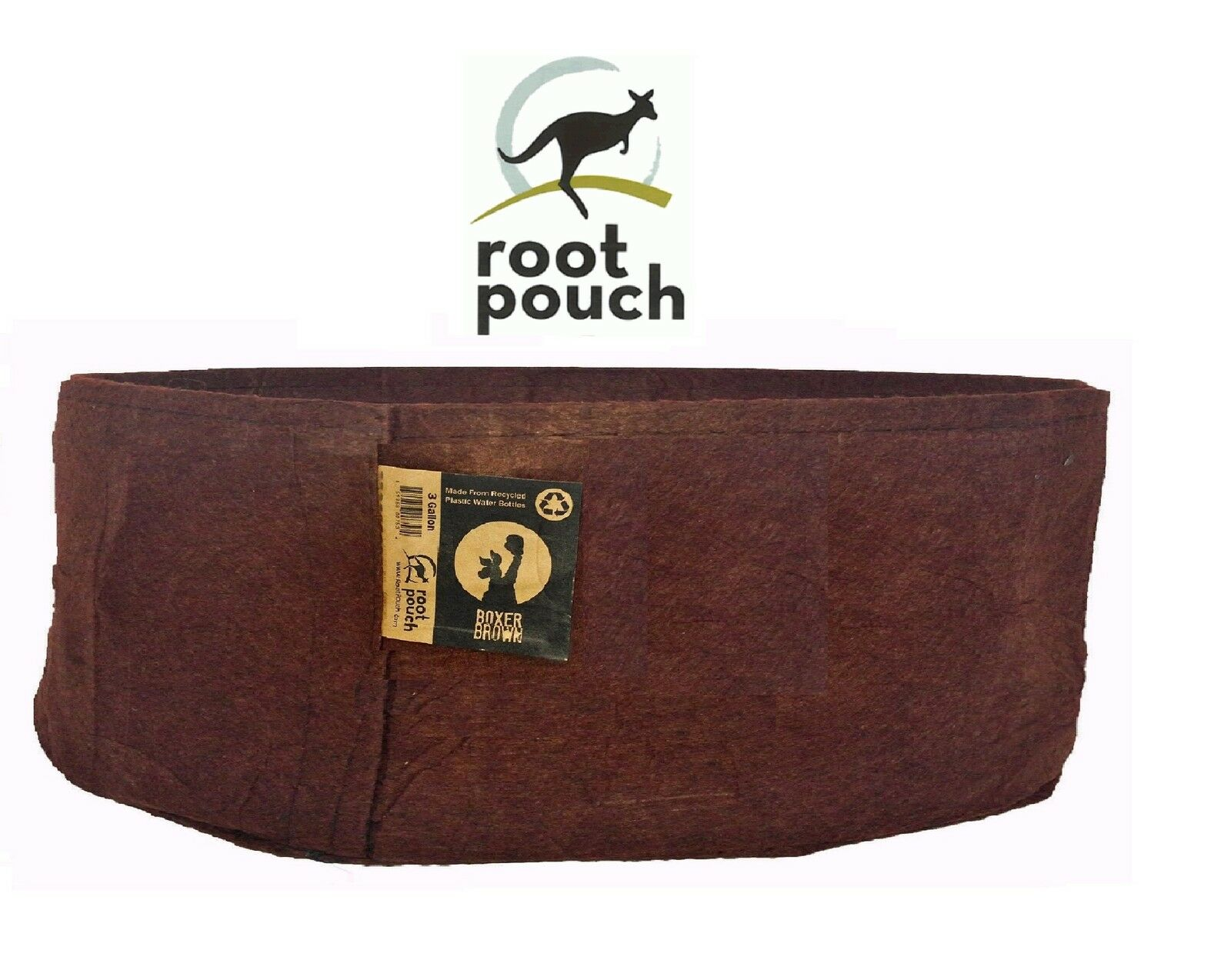 10 Root Pouch Marronee (378L-100Gallon) Géotextile Smart grow Pot container