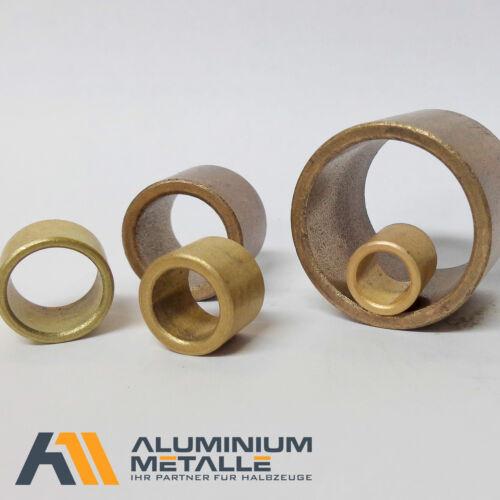 Sinterbronze Buchse Ø 8x10x15mm Gleitlager für 8mm Welle 8//10x15 Lager Zylinder