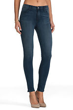$226 J Brand Maria - High Rise Skinny Super Stretch Denim in Utopia Size 24 MINT