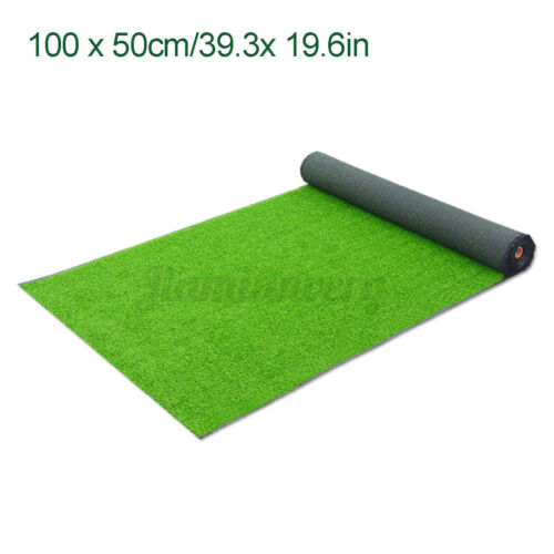 Artificial Grass Mat Synthetic Landscape Fake Turf Lawn Home Yard Floor Mat Deor
