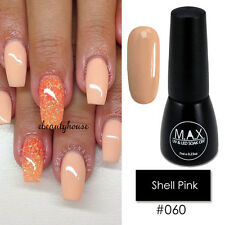 MAX 7ml Nail Art Color UV LED Lamp Soak Off Gel Polish #060-Shell Pink