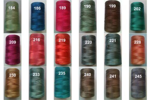 Free Pstg Clr.1 Flat 1 Embroidery Machine Thread Spool Rayon Viscose Silk 150