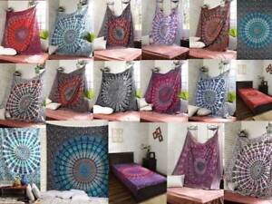 Details About Large Tapestry Indian Mandala Wall Tapestry Boho Gypsy Decor Hippie Wall Hanging