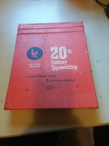 Antique Typewriter Instruction book 1967 vintage collectable