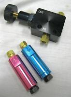Black Adjustable Proportioning Valve Kit W/ 2lb & 10lb Residual Valves Disc Drum