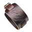 Punk-Men-Women-Wide-Genuine-Leather-Belt-Bracelet-Cuff-Wristband-Bangle-Jewelry Indexbild 2