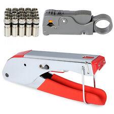 Crimping Tools  BNC RCA RG6 RG59 Connector Fitting Cable Coax Coaxial Crimper