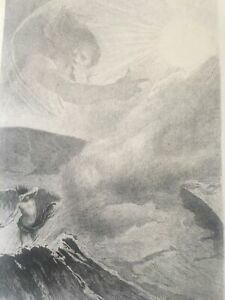 Works-of-Victor-Hugo-Francois-Flameng-Original-Etching-1888-Signed-in-Plate
